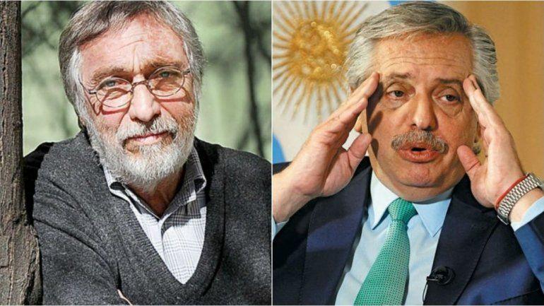 Luis Brandoni arremetió contra el Presidente por los muertos de COVID