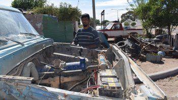 Dolor en Las Grutas: murió Firmapaz, el pulpero de la F100