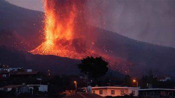 el volcan en la palma entro en fase explosiva extrema