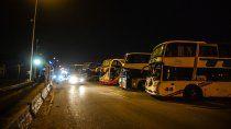 transportistas: liberan el transito en los puentes carreteros