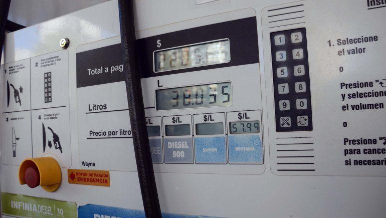 Naftas: las estaciones neuquinas actualizaron las pizarras
