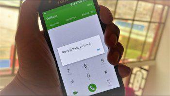 Durante siete horas el centro oeste sufrió un corte de telefonía móvil