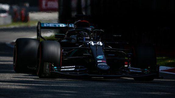 Lewis Hamilton bajó en 232 milésimas el récord que tenía Kimi Räikkönen desde 2018 y se quedó con la vuelta más rápida en la historia de la Fórmula 1 en el circuito de Monza, Italia.