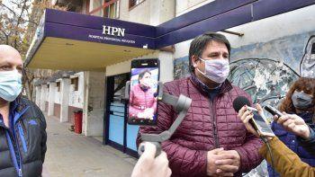 Harán a nuevo las veredas y accesos en los hospitales de la ciudad