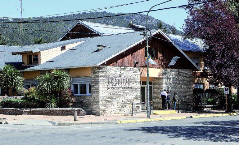 El hospital Ramón Carrillo en San Martín de los Andes.