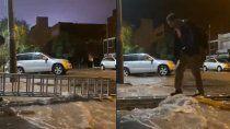 las impactantes imagenes captadas por los neuquinos de la tormenta