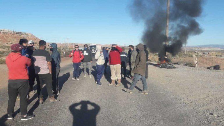 Desocupados volvieron a cortar la ruta en Rincón de los Sauces