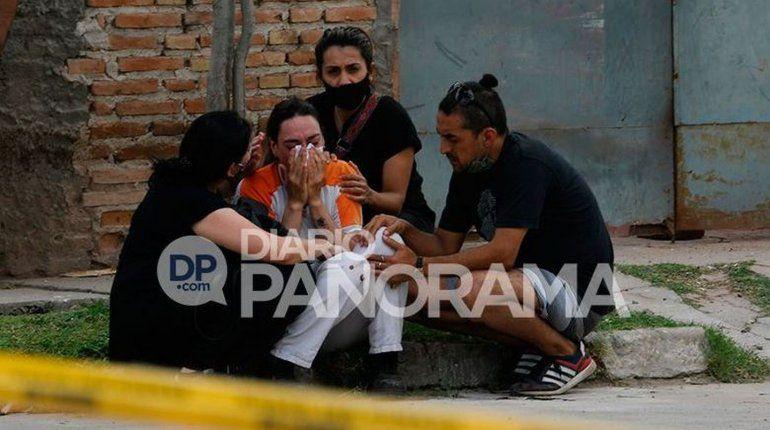 El dolor de la familia del nene asesinado a puñaladas por su padre.