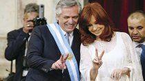 cristina y alberto celebraron el triunfo del partido de evo morales en bolivia
