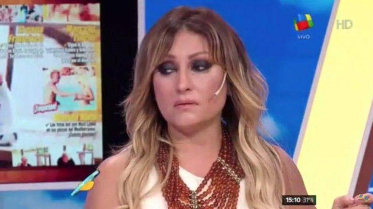 Angie Balbiani metió la pata y la Tauro se fue llorando de Intrusos