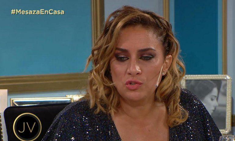 María Julia Oliván lloró al hablar sobre cómo le impactó a su hijo el cierre de las escuelas