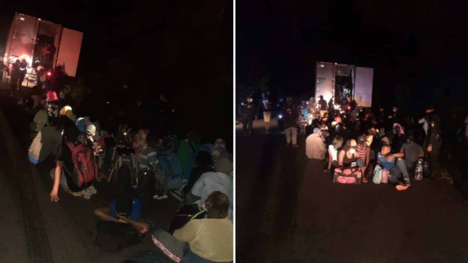 rescatan a 126 haitianos abandonados en un contenedor