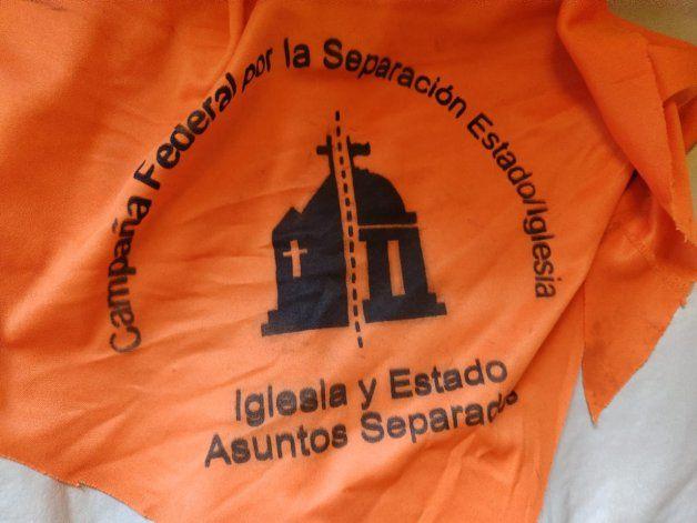 Ahora se viene el pañuelo naranja en Neuquén