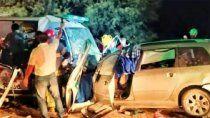 tragedia en la rioja: 9 muertos en un choque entre una ambulancia y un auto