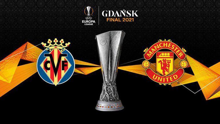 Villareal y Manchester United van por la Europa League: hora y TV