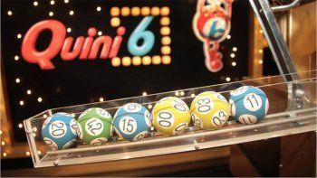 sorteo del quini 6: salio el segunda vuelta y se gano 55 millones