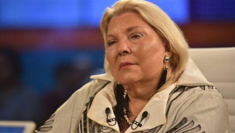 ¿Lilita Carrió eligió qué vacuna darse?