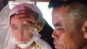 la boda de una nina de 13 anos con un hombre de 48 indigna al mundo