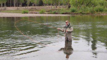 Neuquén otorgó 17.000 permisos de pesca en menos de un mes