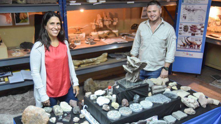 Jurassic Park neuquino. En el Museo de Geología y Paleontología de la UNCo estudian los recientes descubrimientos, como el de los restos fósiles de un titanosaurio de 85 millones de años de antigüedad  que fueron rescatados en el yacimiento Entre Lom