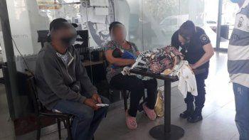 Cayó una pareja cuando vendía a su bebé por 40 mil pesos