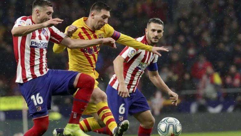 Barcelona cae en el Wanda Metropolitano