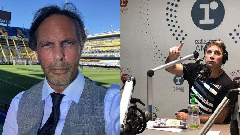 Gustavo López y Leo Gentili son compañeros en Radio la Red y ESPN.