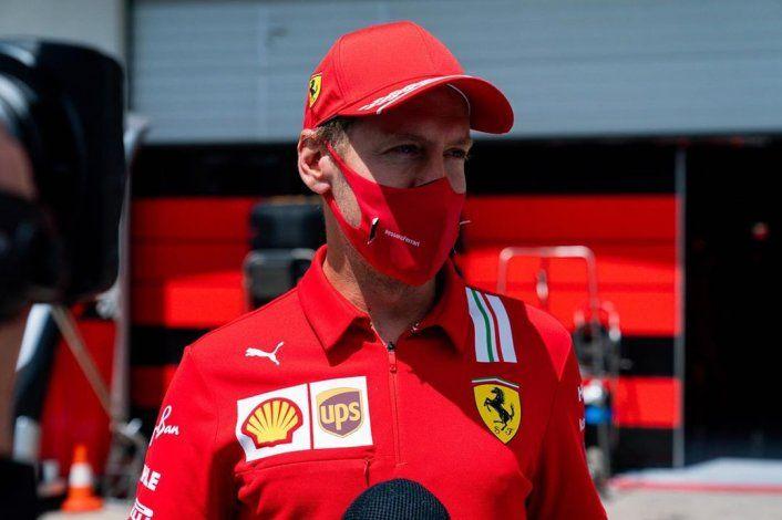 Sebastian Vettel mostró su amargura por el choque que tuvo con su compañero Charles Leclerc en el Gran Premio de Estiria.