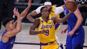 Rondo se lució en los Lakers.