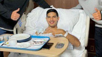 Chucho López, de América de México, sufrió fractura de peroné.