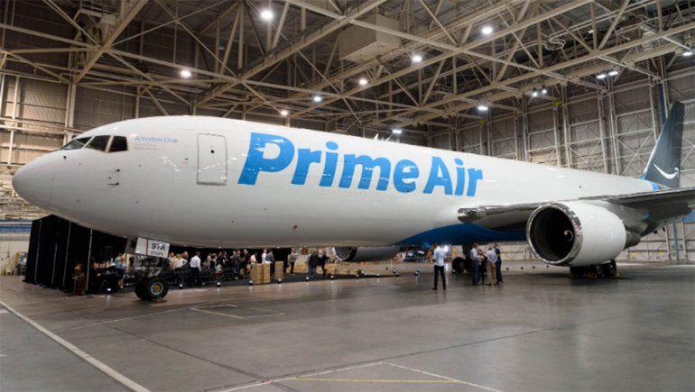Amazon compró once aviones para expandir su red aérea