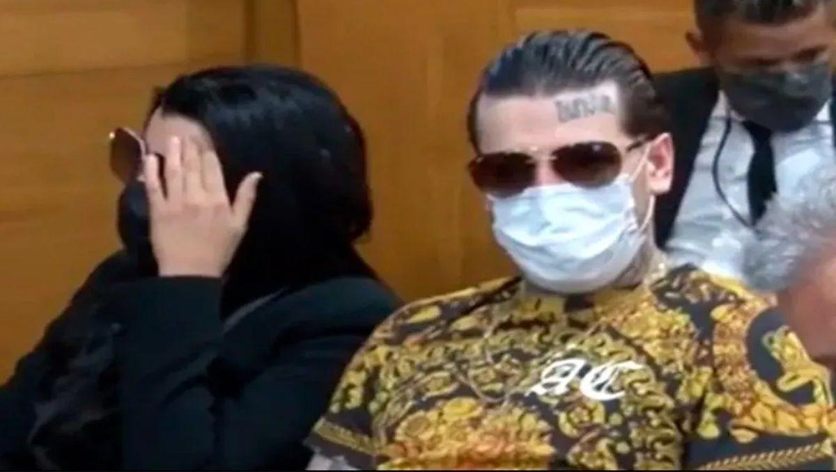 charlotte y axel caniggia condenados a prision por lesiones y amenazas