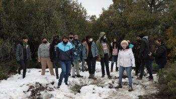 Plantá futuro: jóvenes protagonistas de la forestación de bosques neuquinos