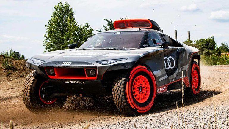 Audi mostró su prototipo para el Dakar 2022