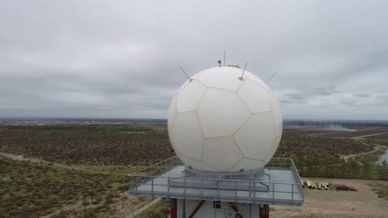 El rol clave del radar de la Meseta durante la tormenta