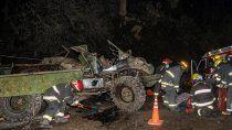 dos soldados graves tras volcar con un unimog en la ruta 48