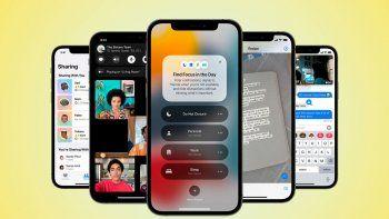 Apple renovado: cuándo y para cuáles iPhone llega el iOS 15