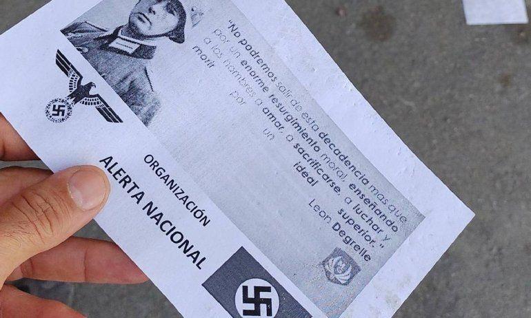 La Justicia investigará quién hizo propaganda nazi en Río Negro