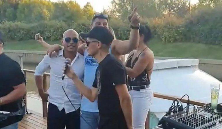 Un ex Boca fue sorprendido en una fiesta clandestina en el Nordelta