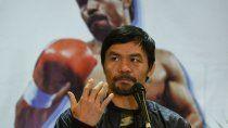 pacquiao, de la derrota en su regreso al boxeo a la postulacion como presidente