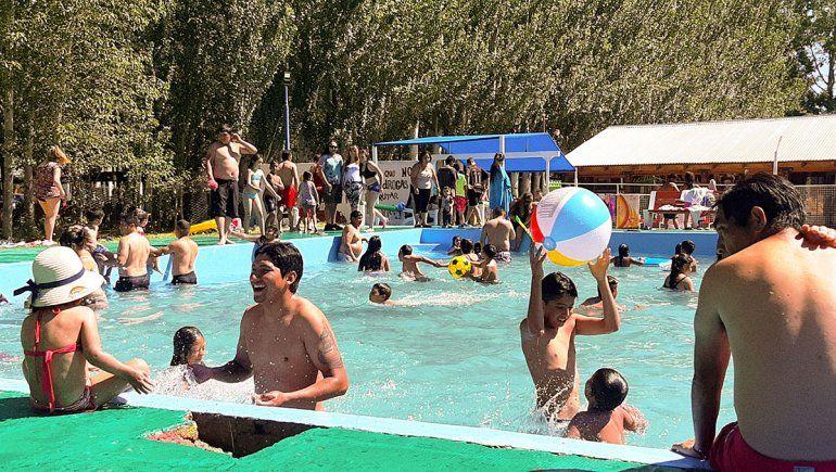 El balneario de Mariano Moreno abrió la temporada