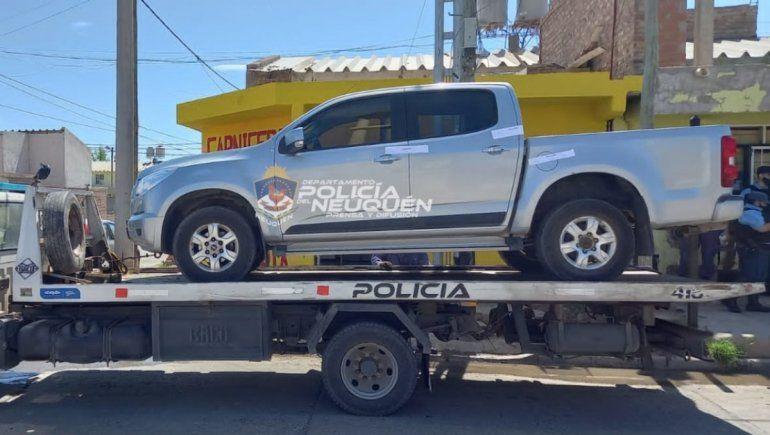 Le robaron la camioneta en Cutral Co y apareció en Neuquén