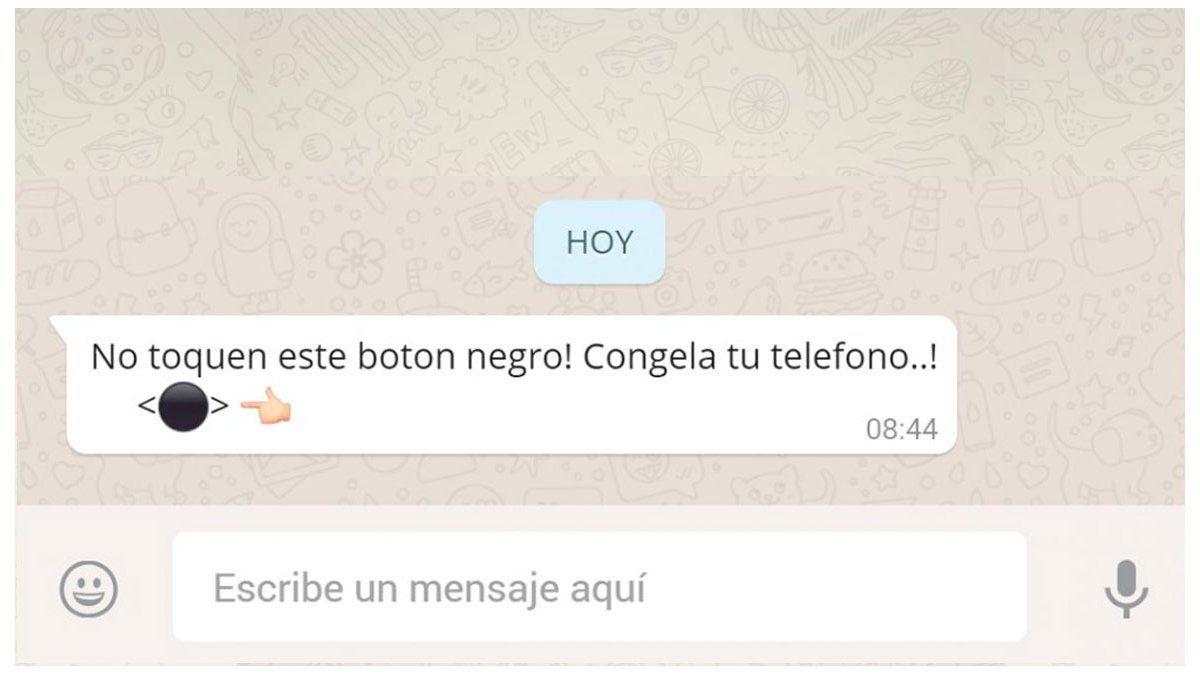 El Misterioso Botón Negro De Whatsapp Por Qué Se Tilda