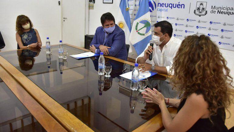 Neuquén y Zapala crearán una sala de elaboración de alimentos para emprendedores
