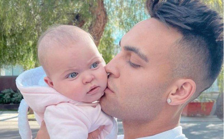 El gran susto de Lautaro Martínez por el accidente doméstico de su beba