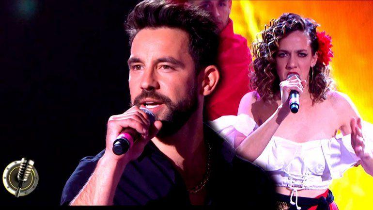 Cantando: Cachete Sierra admitió su romance en la pista