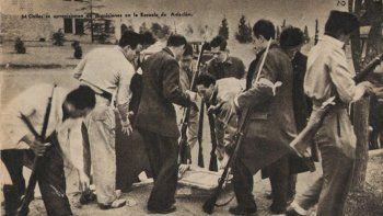 los comandos civiles, la primer guerrilla urbana