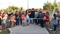 un nuevo parque lineal se impone en el oeste neuquino