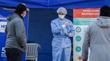 Neuquén registró cinco muertes y 195 nuevos casos por coronavirus