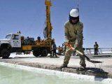 Argentina tiene importantes reservas de litio.